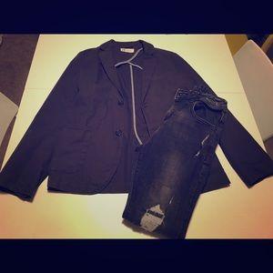 Boys H&M Cotton Casual Blazer